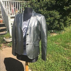 Philippe Aden Paris 100% leather jacket